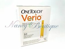 CLEARANCE SALE NEW One Touch Verio Diabetic Test Strips Sealed 50 Exp 08/2018