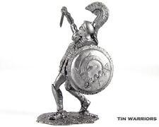 *Athenian Hoplite 470* Tin toy soldier. 54mm miniature figurine. metal sculpture