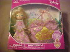 DISNEY SLEEPING BEAUTY DOLL W/ TOTE TO CARRY HER IN