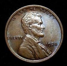 1920 GEM BU Lincoln Wheat Penny - BRILLIANT UNC GEM NICE TONING