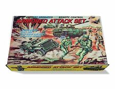 Marx Armored Attack Play Set Box