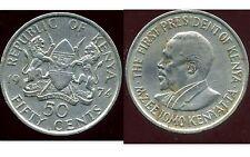 KENYA 50 cent 1974