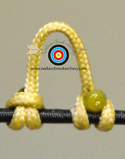 5 Pack Cedar Archery Release Bow String Nock D Loop Bowstring BCY #24