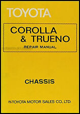 Toyota Corolla Chassis Repair Shop Manual 1975-1976-1977-1978-1979 Trueno