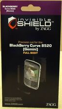 Zagg Invisible Shield Blackberry Curve 8520 Gemini Full