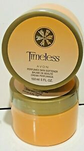 AVON SKIN SOFTENER TIMELESS   5 OZ  !! 2 CREAMS !!   DISCONTINUED