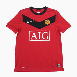 Nike Manchester United Man Utd Mens Football Home Shirt 2009-10 Soccer Jersey
