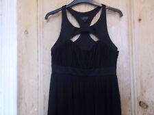 NEW Top Shop Stunning Black dress .size 10.
