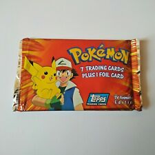 Lot 3 boosters pack flix-pix topps pokemon merlin new sealed mint 2005
