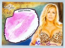 "NIKKI ZIERING ""KISS AUTOGRAPH CARD #3/5"" BENCHWARMER TREASURE CHEST 2015"