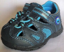 Sandals Cookie Monster infant boys size 2 wide EUR 17.5 new Sesame Street blue