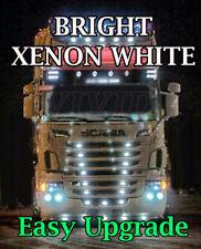 FOR 24V Truck HGV Hella Lorry White LED T10 501 Side Light Bulbs Xenon x10
