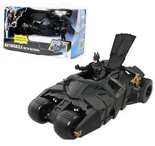 DC BATMAN THE DARK KNIGHT RISES BATMOBILE DIECAST CAR VEHICLE ACTION FIGURES TOY