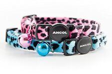 Ancol Acticat Collier en velours a Imprime Leopard pour Chat