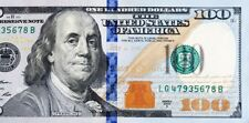 $100 dollar Money bill Fed Reserve Note circulated REDEEM GIft cards bucks cash