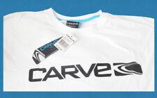 NEW Mens Carve T Shirt Short Sleeve Tee Top White Designed Australia Size L, XL