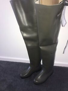 Agile rubber  waders size 43 Dark green