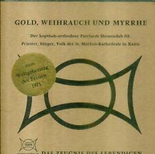 "7"" oro incenso e myhrrhe (weltgebetstag delle donne 1975)"
