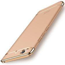 Handy Hülle Schutz Case für Xiaomi Mi 5s Bumper 3 in 1 Cover Chrom Etui Gold Neu