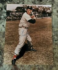 Ted Williams Boston Red Sox 8x10 Signed Autographed Photo