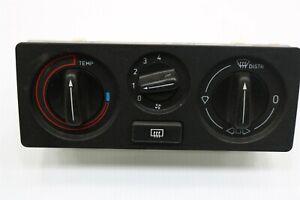 NEW OEM GM Dashboard Heater Control Panel 9631235 Saab 9000 W/O A/C 1987-1998