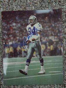Charles Haley signed 8x10 Photo w/COA Dallas Cowboys