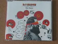 DJ Shadow: Six Days (Deleted 3 track CD Single)