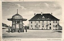 15622/ Foto AK, Heuberg, Kiosk, Kommandantur, 1917