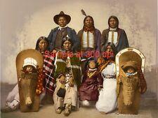 Antique Native American Detroit Photographic color lithograph
