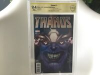 Thanos #1 Jeff Dekal 1:50 variant signed ASP CBCS Cosmic Ghost Rider not 13 CGC