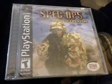 SEALED! Spec Ops Airborne Commando - PS1 Complete Playstation Game