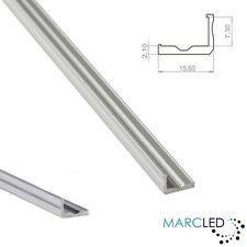L1 aluminio en forma de L Disipador De Calor (perfil) Para Tiras De Led, color plata anodizada, 1m
