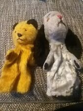 Vintage 60s/70s Sooty and Sweep Hand Puppets in nice condition. Kids Toys 🧸