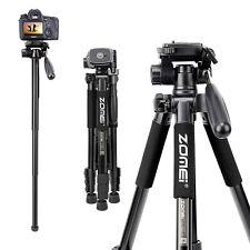 Professional Portable Tripod Monopod Pan Head for Canon Nikon DSLR Camera