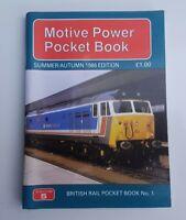 Platform 5 1986 BR Diesel Loco Motive Power Pocket Book Class 37 47 50 27 Trains