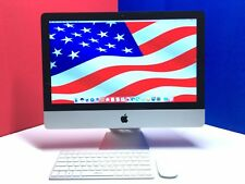 "Apple iMac 21.5"" Mac Desktop Computer / Three Year Warranty / MASSIVE 2TB HDD"