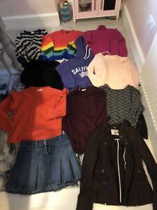 Womens jumper bundle, size 12, cream/grey/multi coloured