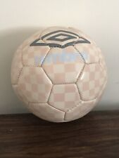 Umbro Heritage Check Size 1 Soccer Ball Pink [Sp1]
