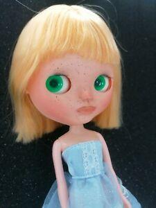 Custom OOAK Blythe Doll With Dress
