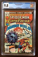 Marvel Team-Up #66, 2/78, CGC 9.8, Captain Britain and Spider-Man