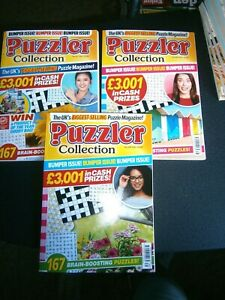 3 Puzzler Collection Puzzle Books  2021 (new) Issues,,437,438,439