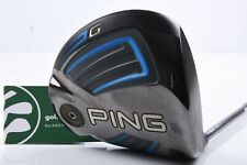 PING G-SERIES DRIVER / 10.5° / STIFF FLEX PING TOUR 65 SHAFT / PIDGSE538