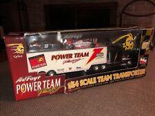 1998 AJ Foyt Indy Joe Bessey Power Team Racing 1/64 Transporter Truck New!!