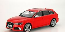 AUDI RS6 AVANT RED LIMITED EDITION 1:18 SUPERB MODEL COLLECTORS BY MINICHAMPS