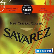 Savarez 540CR Guitar Strings Acoustic Trebles Cristal Classical Normal Tension!