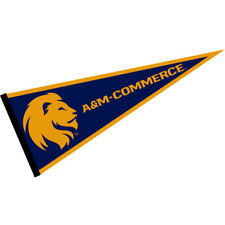 "Texas A&M University Commerce Lions 12"" X 30"" College Pennant"