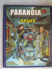 Stuff XP paranoïa sci-fi rôle RPG LIVRE MGP MANGOUSTE