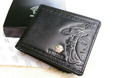 Men's Leather wallet , New with Box #NG07