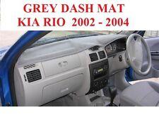 DASH MAT, DASHMAT, DASHBOARD COVER FIT  KIA RIO 2002 - 2005, GREY