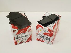 LEXUS OEM FACTORY FRONT AND REAR BRAKE PAD SETS 2001-2006 LS430